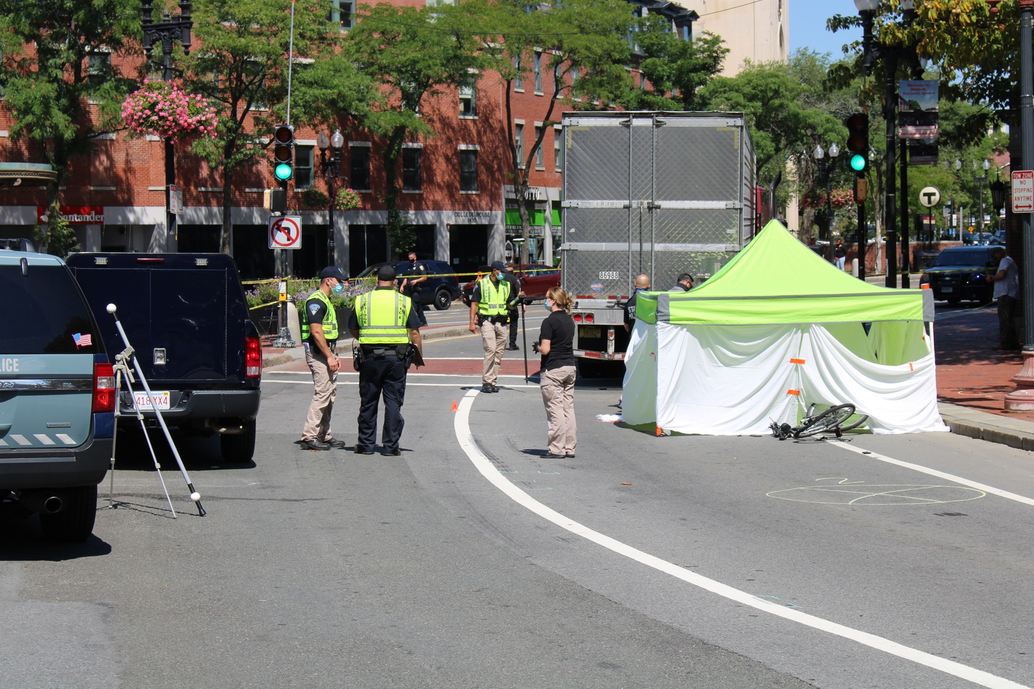A fatal accident shut down Harvard Square Tuesday morning and afternoon.