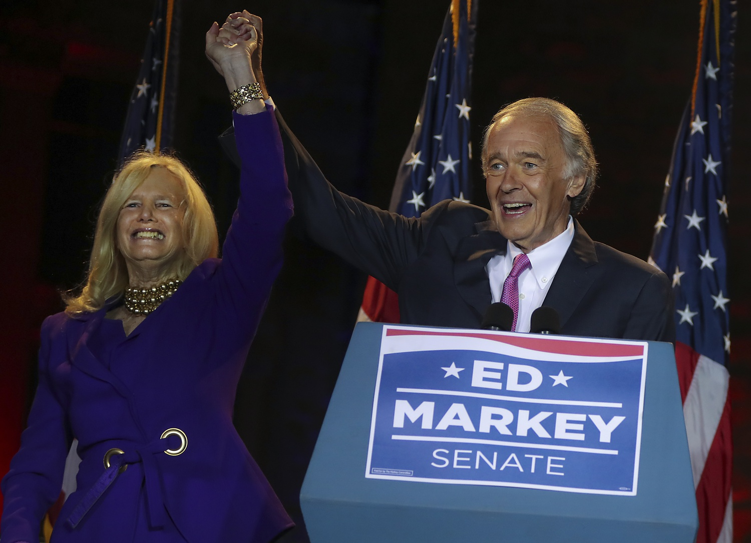 Massachusetts saw a spate of incumbent victories Tuesday.