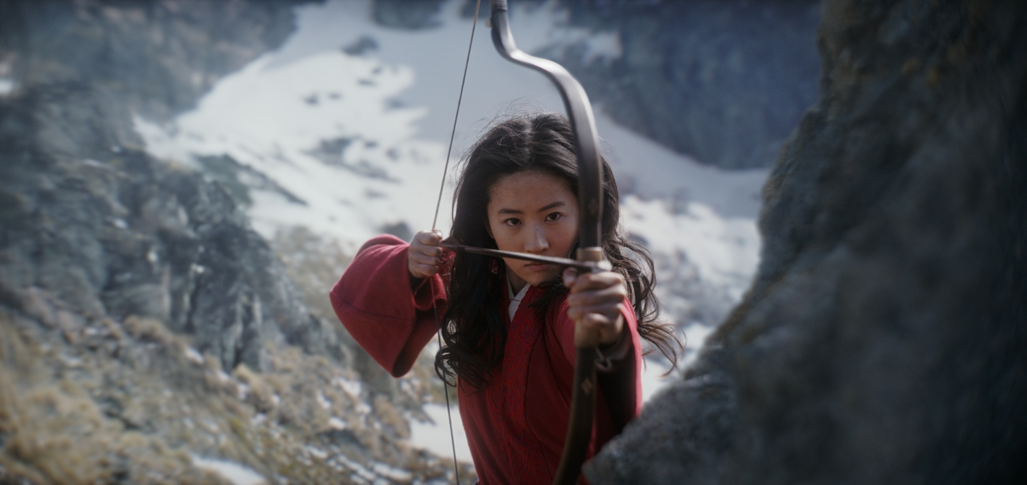 Liu YIfei as the titular Chinese heroine in Disney's 'Mulan.'