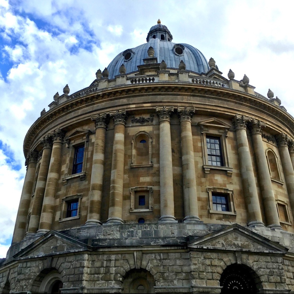 The Bodleian Library is the main research library at the University of Oxford.