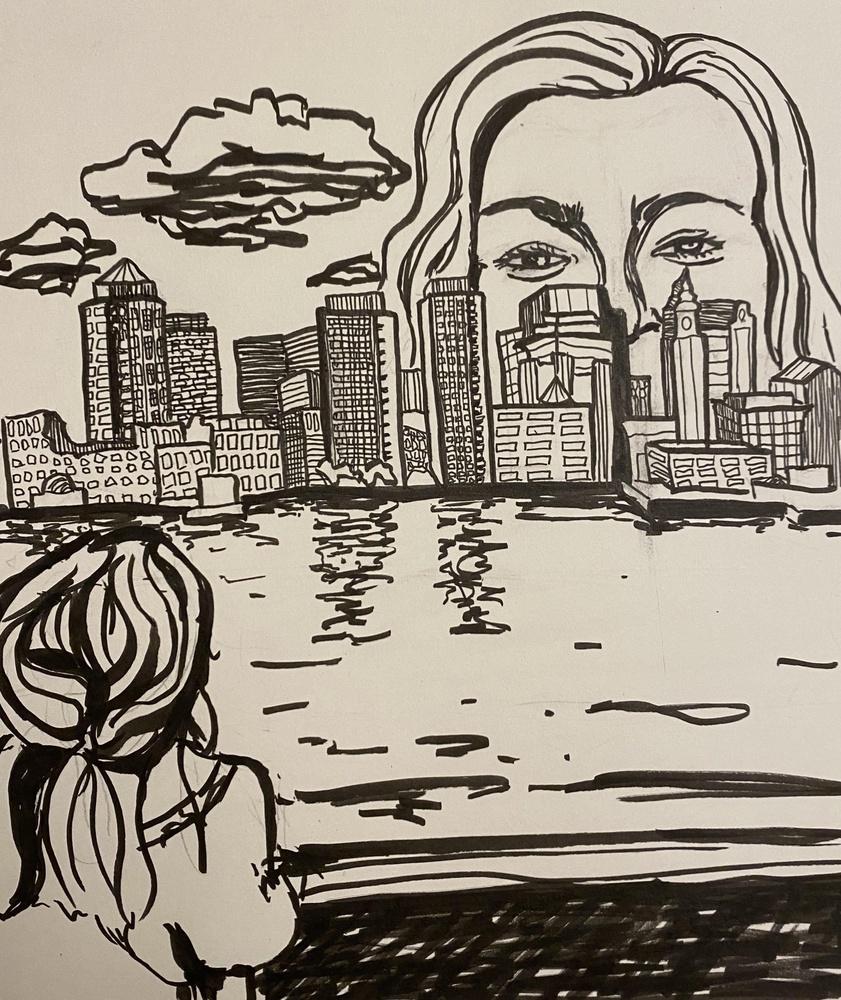 Overlooking Boston