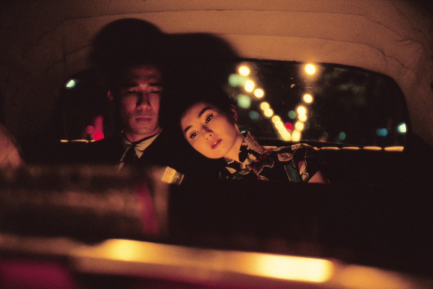 "Tony Leung Chiu-wai (left) stars as Chow Mo-wan and Maggie Cheung (right) stars as Su Li-zhen in ""In the Mood for Love"" (2000), directed by Wong Kar-wai."