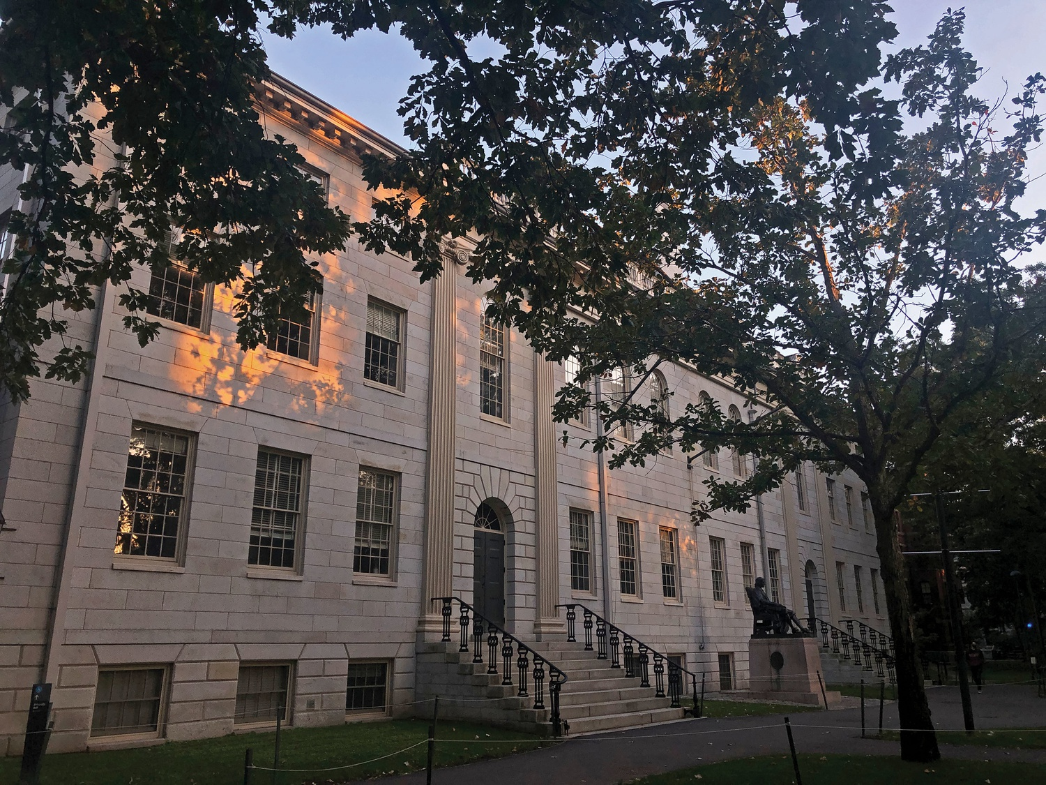 A dozen Harvard faculty signed an open letter as of Monday evening supporting the impeachment of President Donald J. Trump for the second time during his term.