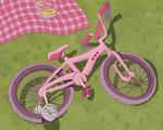 Riding A Bike Illustration