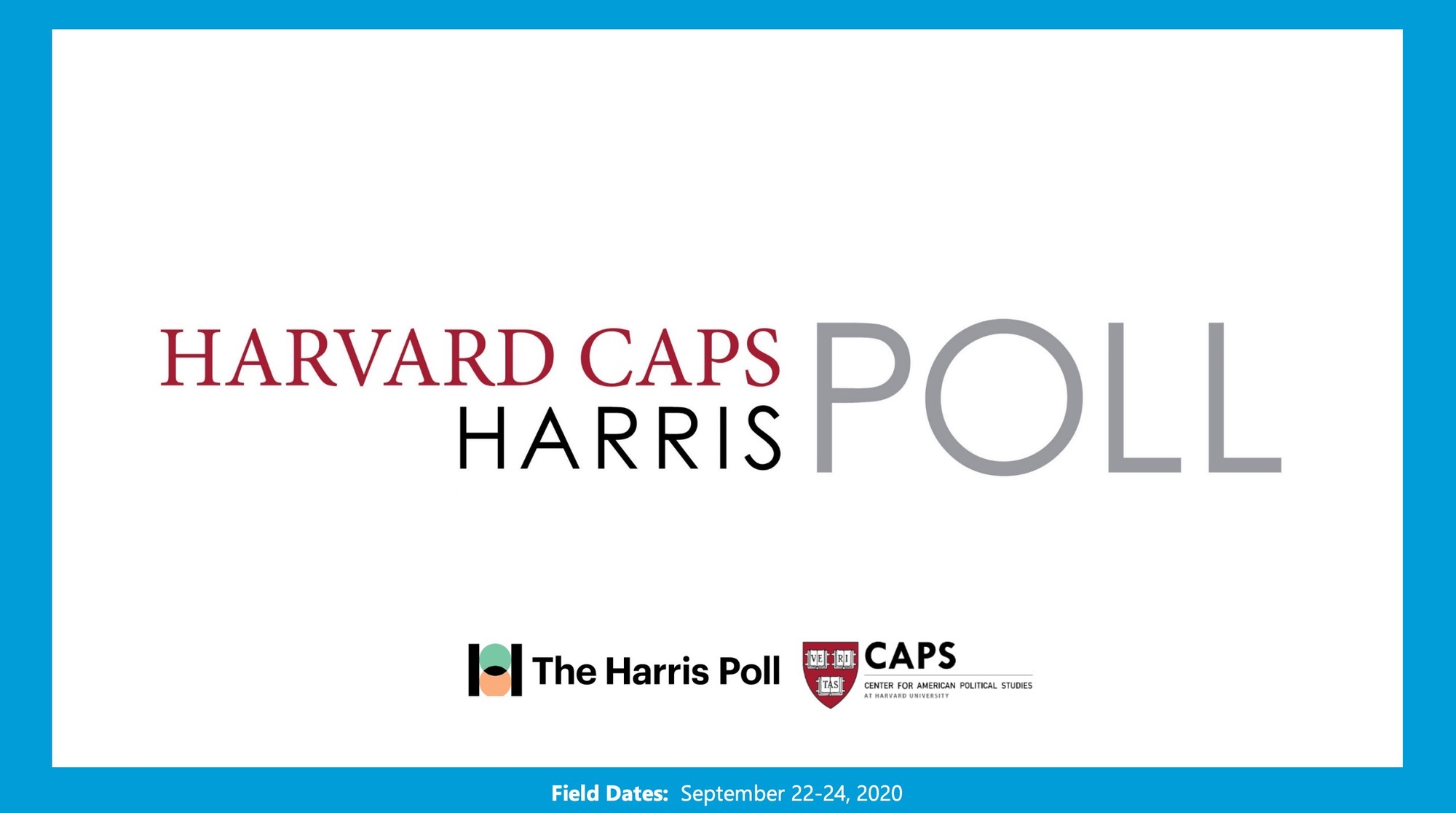 The Center for American Political Studies (CAPS) / Harris Poll has been asking voters which candidate they believe will bring law and order to America since June.
