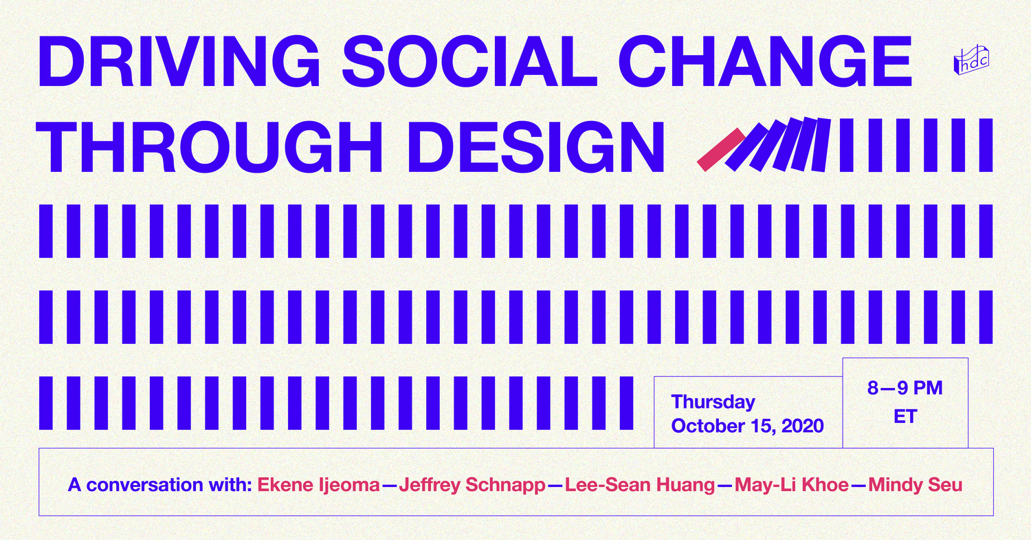 The Harvard Design Collective hosted a panel on social change.