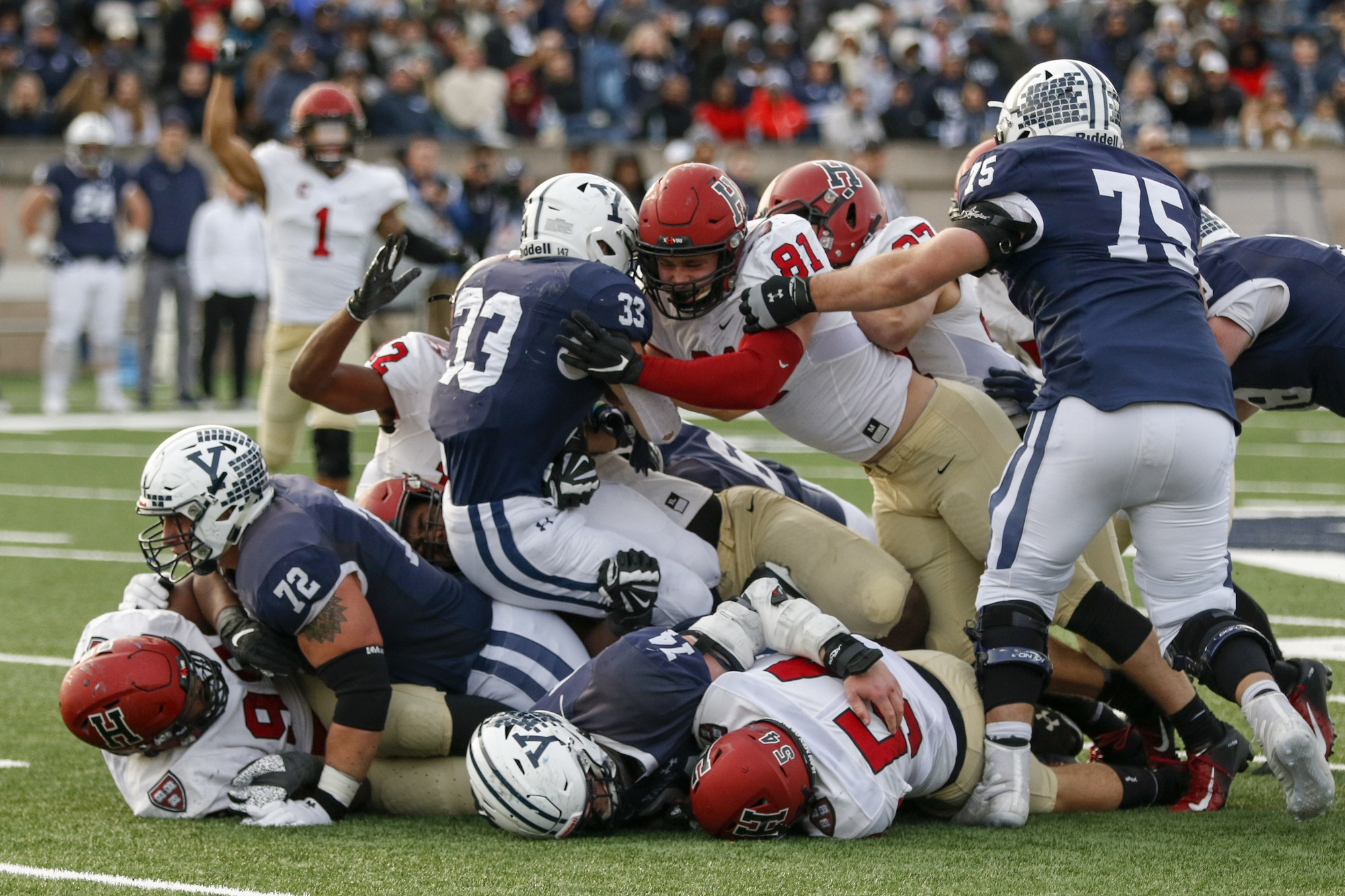 In a normal year, the historic Harvard-Yale football game would be about a month away. This year, Harvard sports are taking place off the field.