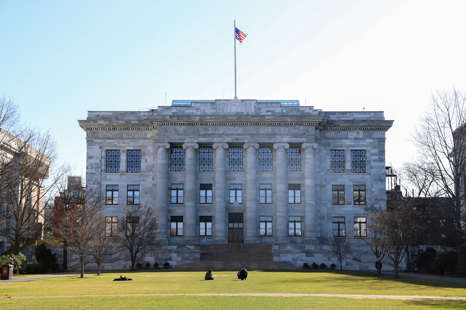 First year students at Harvard Medical School will join upperclassmen on campus this spring, Dean George Q. Daley '82 said in an interview Friday.