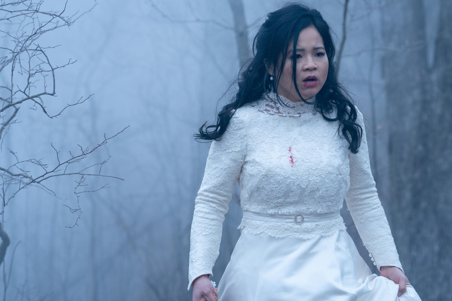 A neglected daughter longs for another life. Lauren Mills (Kelly Marie Tran), shown.