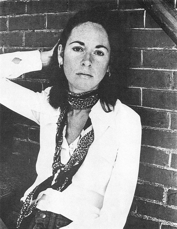 Louise Glück, ca. 1977.