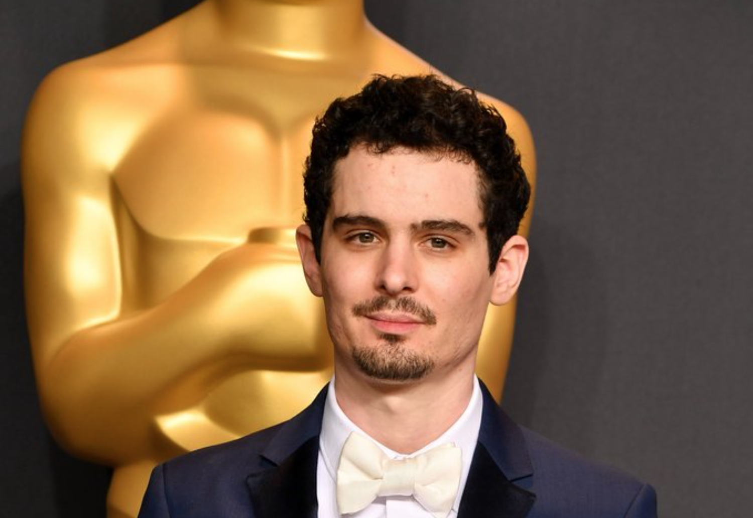 Damien Chazelle winning Best Director at the 89th Academy Awards.