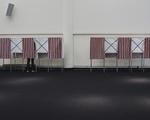 Gund Hall Voting Booths