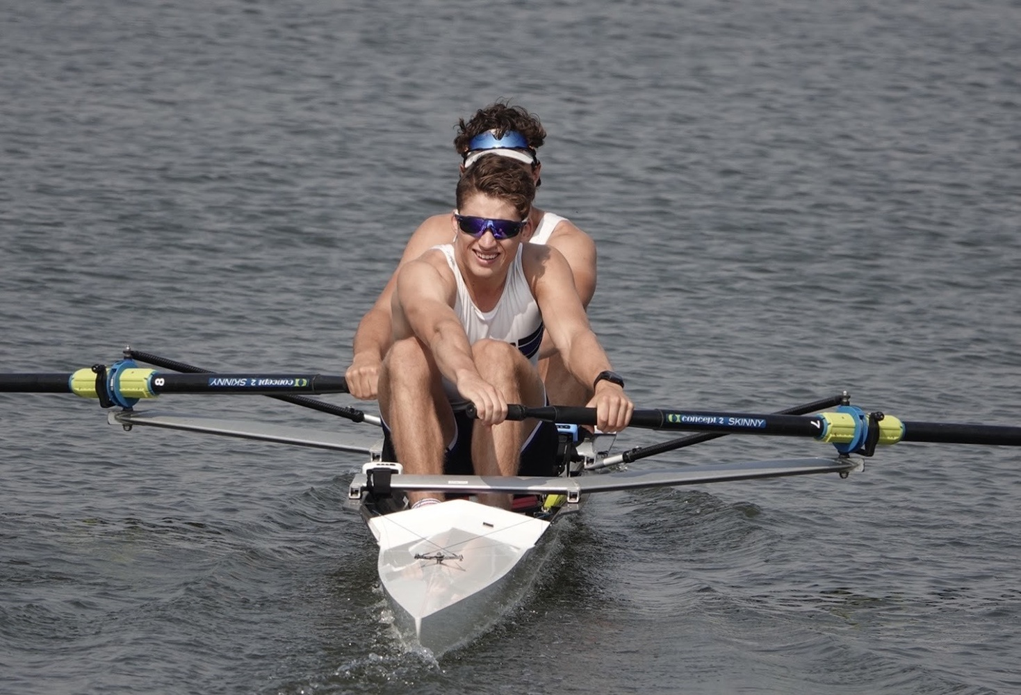 First-year rower Martin Kulesza is keeping up with his training regimen from Australia while attending Harvard classes at odd hours due to the significant time difference.