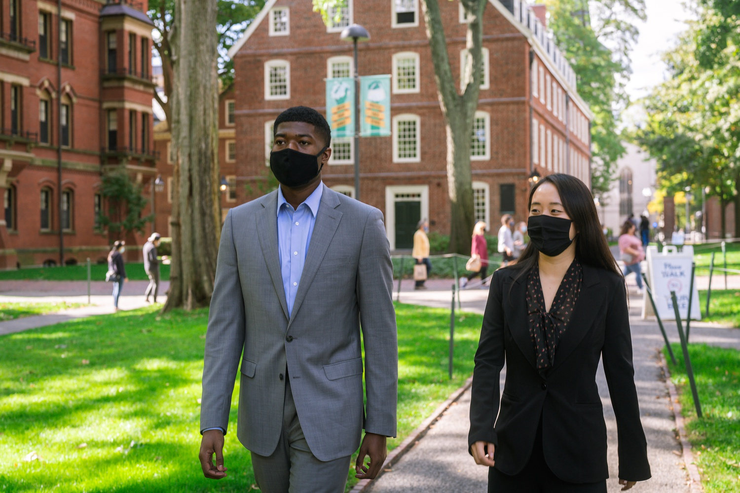 Noah A. Harris '22 and Jenny Y. Gan '22 won the presidential election for Harvard's Undergraduate Council.