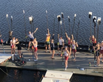 Oars in the Air