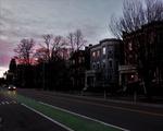 Sunset at CRLS Cambridge Street