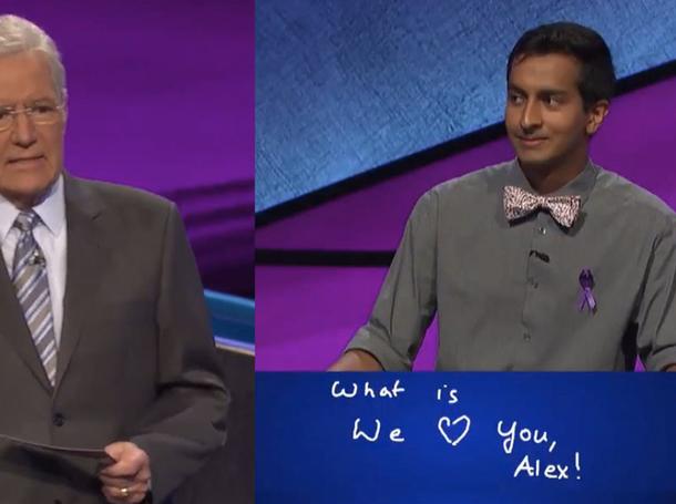 'Jeopardy!' Still Trebek Tribute