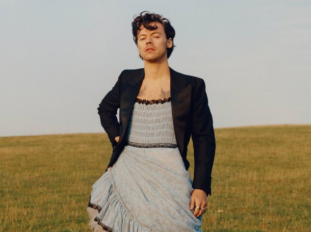 Harry Styles Vogue cover shoot