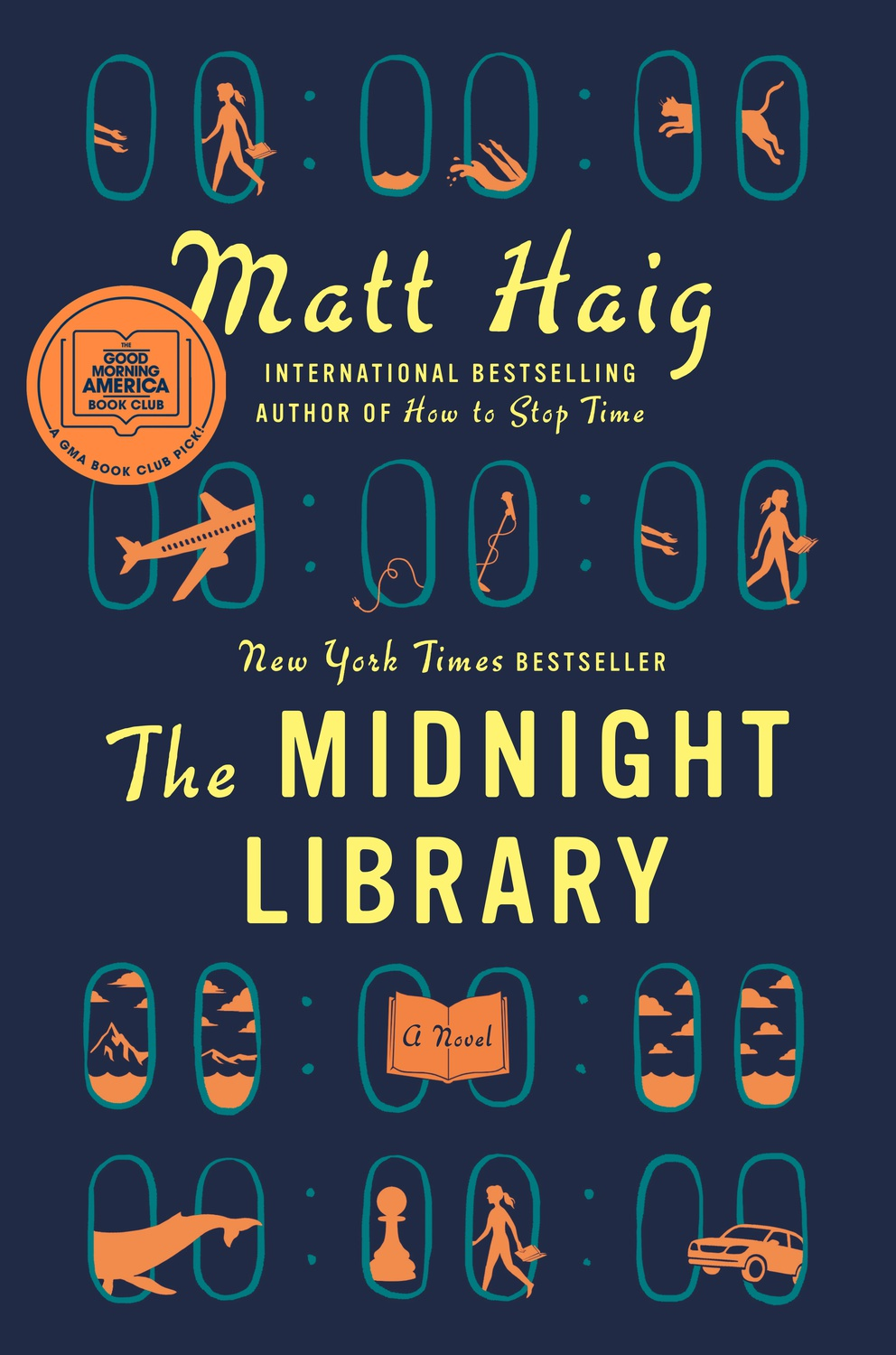 """Cover art of """"The Midnight Library"""""""