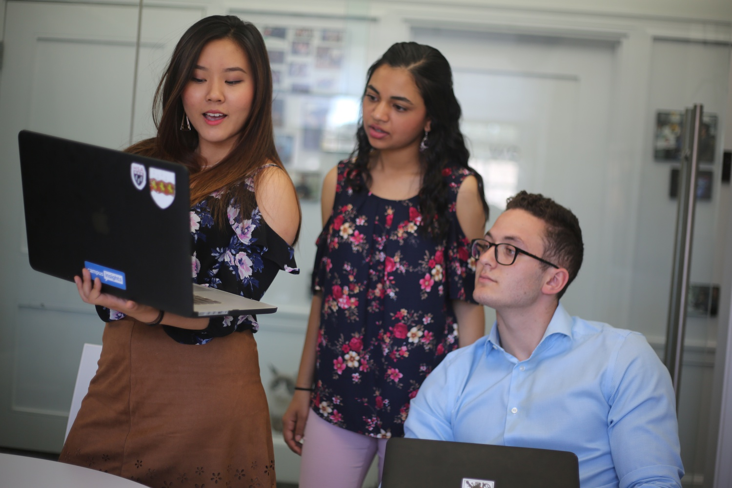 When she learned that the University would be sending its students home, Akanksha Sah scrambled to find a way to sustain the 12 businesses Harvard Student Agencies runs in Harvard Square.