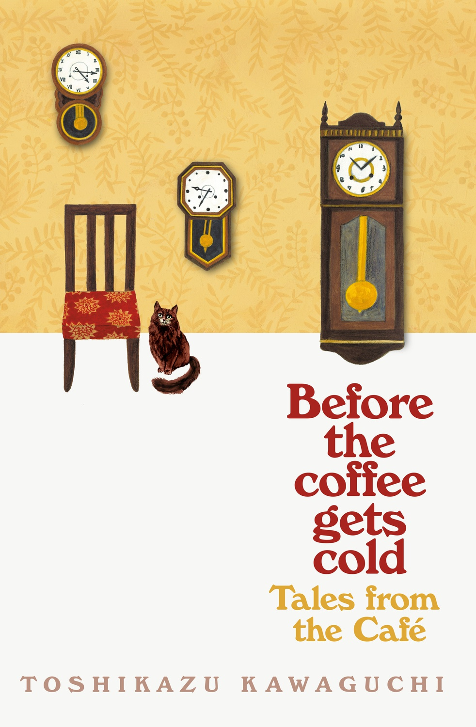 "Cover art of ""Before the coffee gets cold"""
