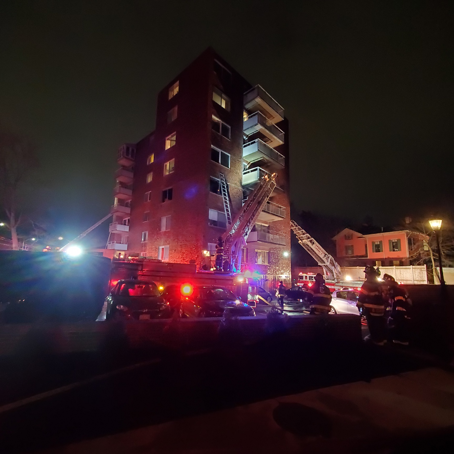 A fire at 14 Concord Ave. sparked last week by a defective refrigerator compressor in a third-floor apartment displaced 100 residents.