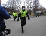 Boston Police Inauguration Day