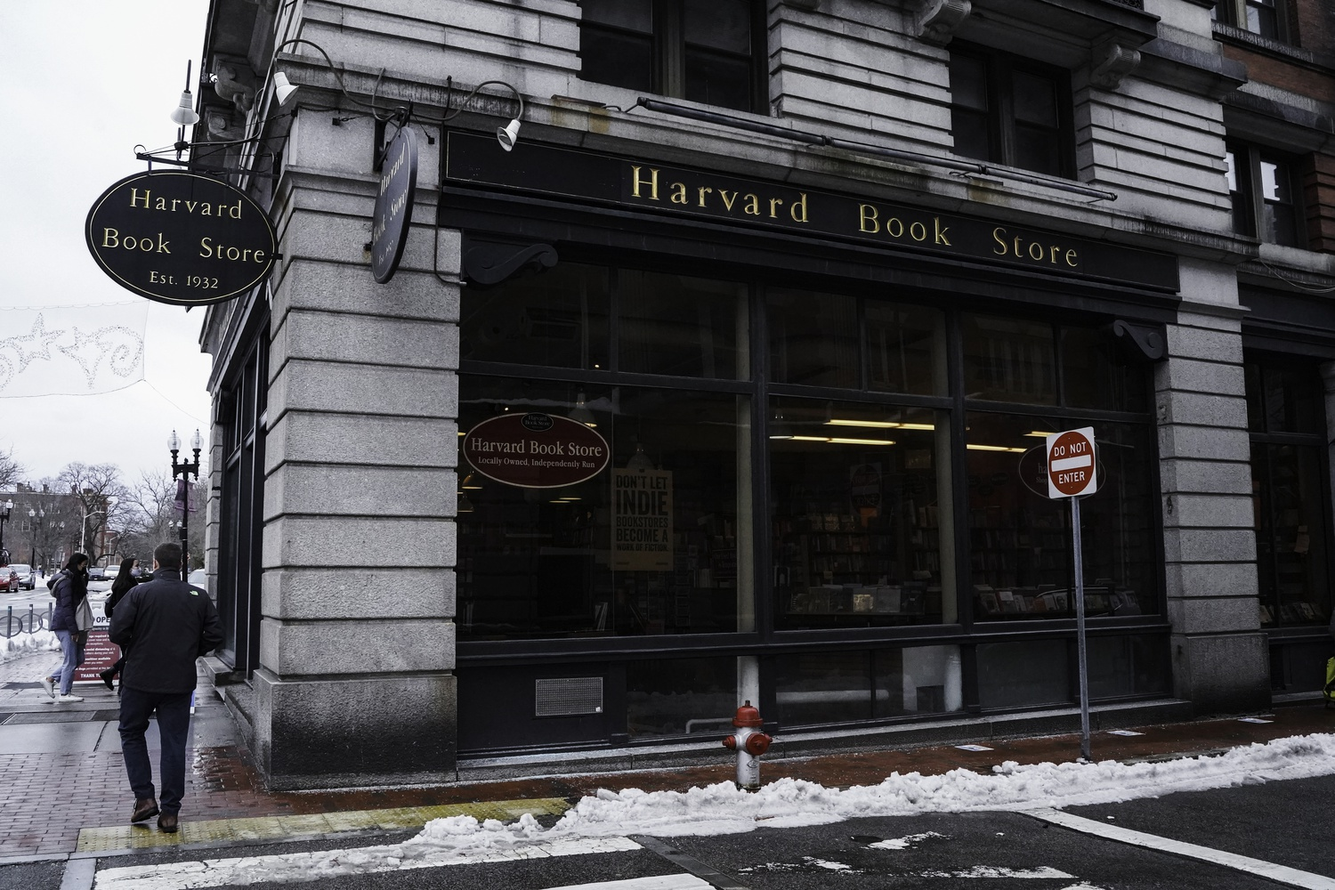 Harvard Book Store general manager Alex W. Meriwether said the store's expenses are up and sales are down after nearly a year operating during the coronavirus pandemic.
