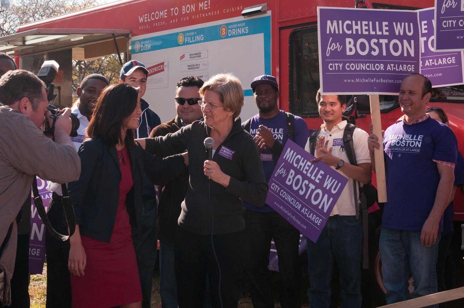 Boston mayoral candidate Michelle Wu '07 garnered several high-profile endorsements in the past month, including one from U.S. Senator Elizabeth Warren (D-Mass.).