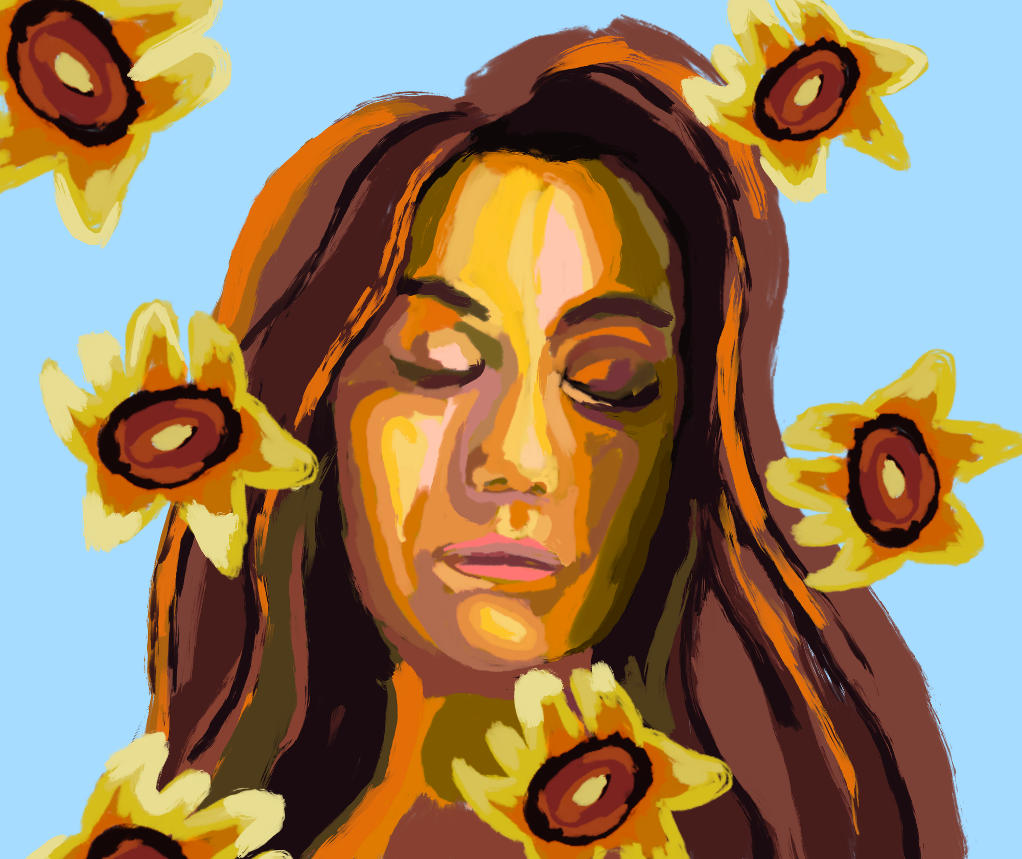 An illustration of Dodie Clark