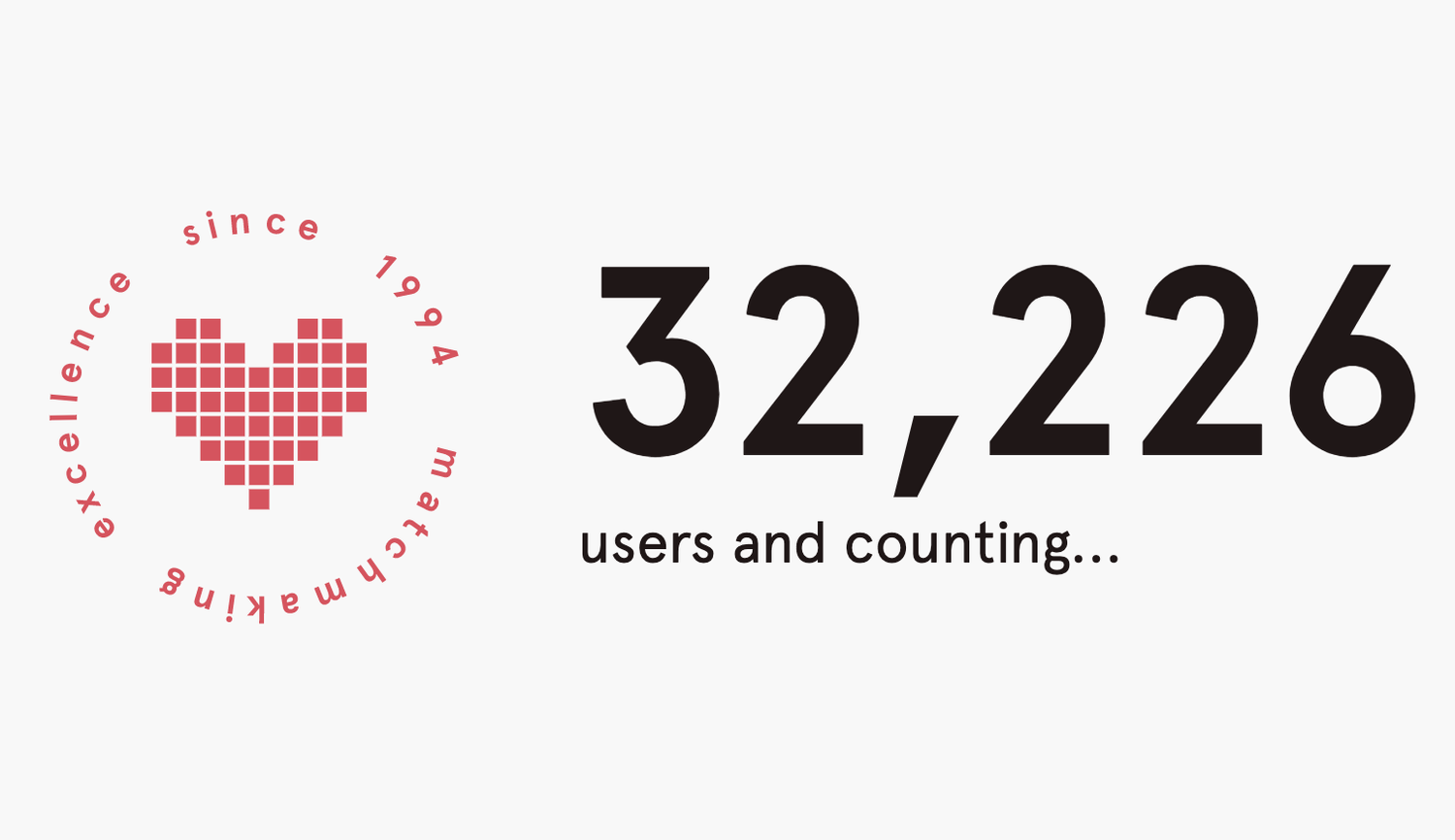 Datamatch's home screen... thousands of users and counting!