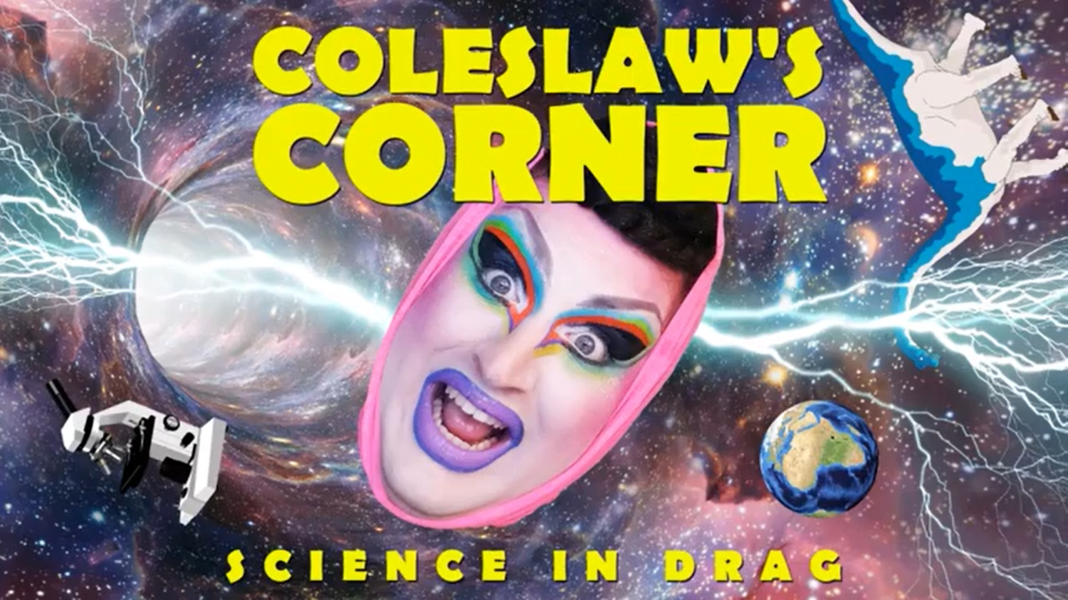 Coleslaw's Corner brings funny and enlightening conversations about science and technology into viewers' homes.