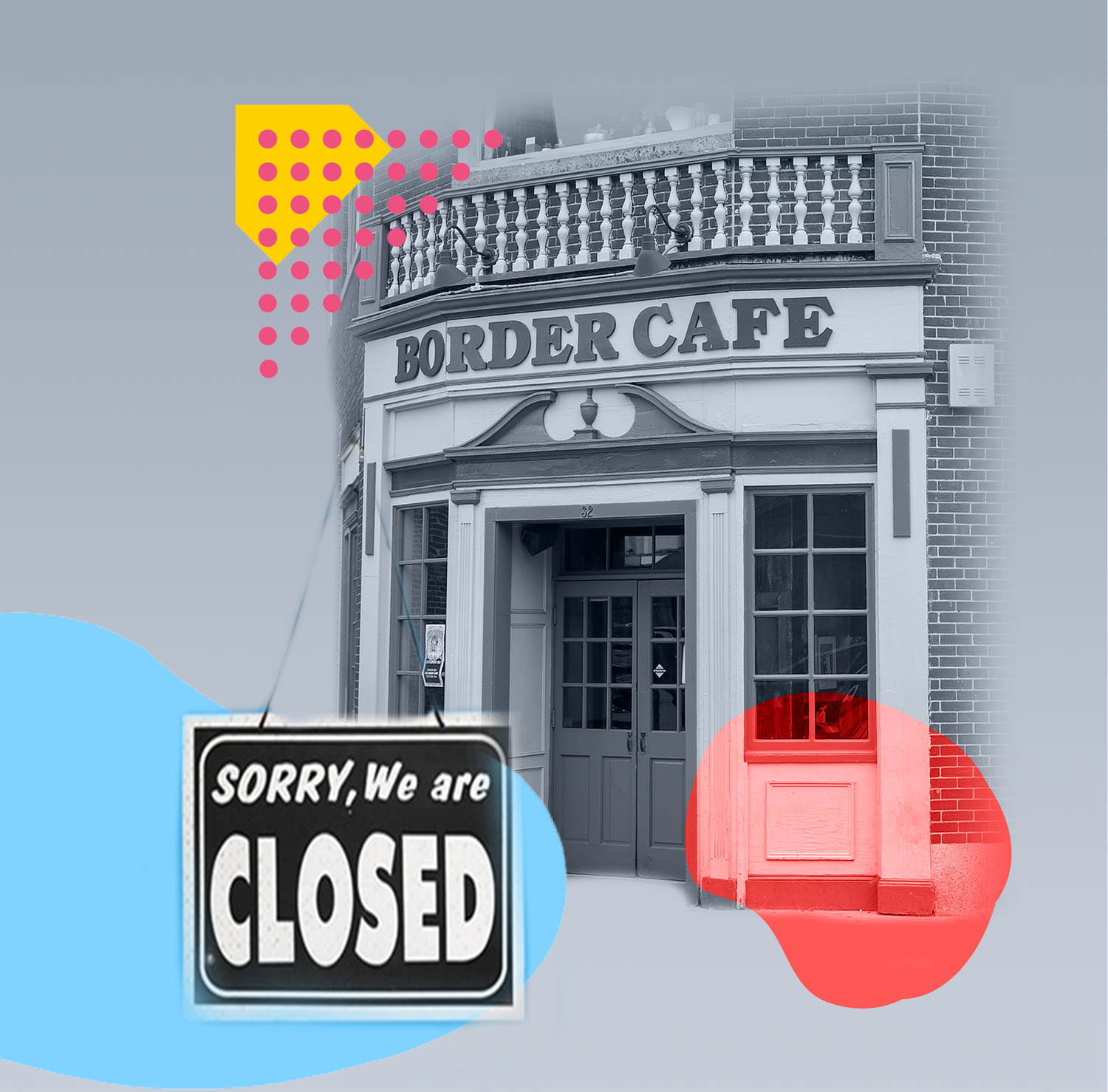 After 34 years in Harvard Square, Border Cafe has permanently closed for business.