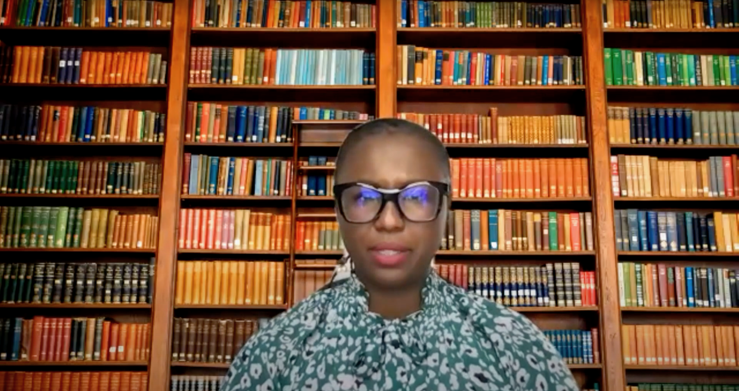 Harvard Chief Diversity and Inclusion Officer spoke at an webinar Tuesday afternoon as part of the Harvard Alumni Association's Unity Webinars series.