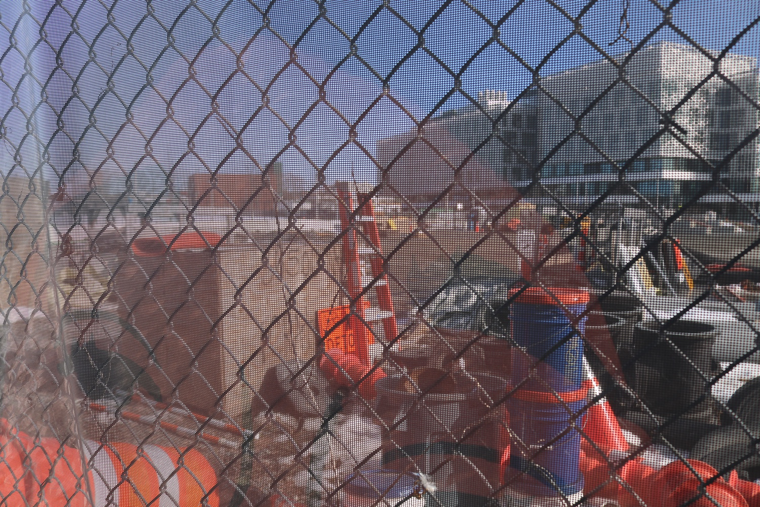 Construction continues near Harvard's Science and Engineering Complex in Allston.