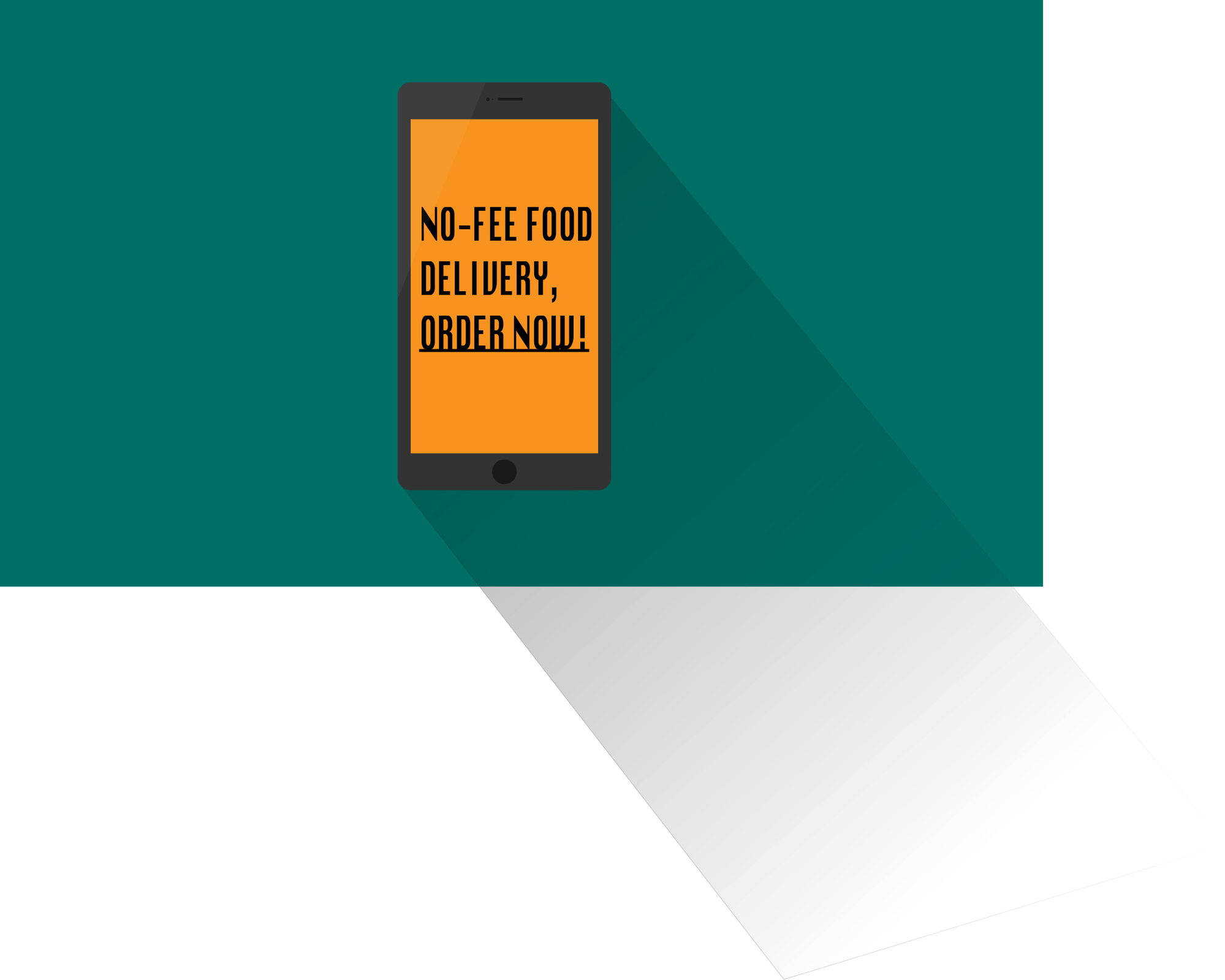 A food delivery app.