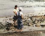 Isabella B. Cho '24 Parents on Beach