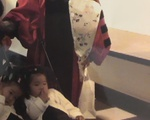 Cho Twins as Babies at GSE Graduation
