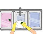 Dishwasing COVID essay graphic