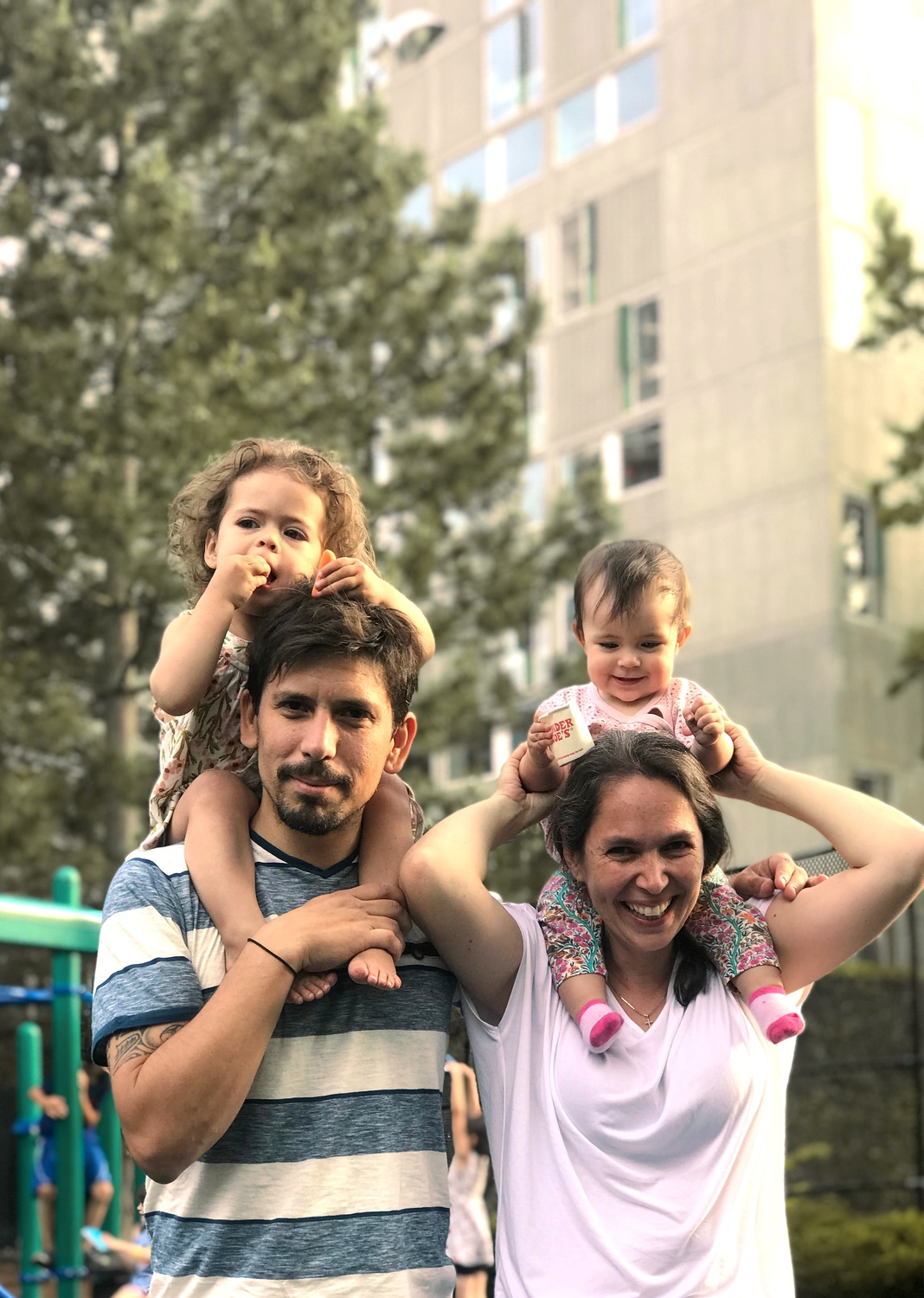 A fifth-year student at the Graduate School of Design, Ugarte recently returned to Cambridge from Chile with his wife and daughters.