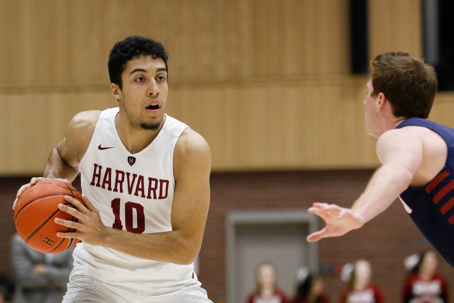 The hard-working, All-Ivy League forward is eager to return to the hardwood as one of the Crimson's veteran leaders.