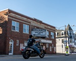 Odeum Theatre Biker
