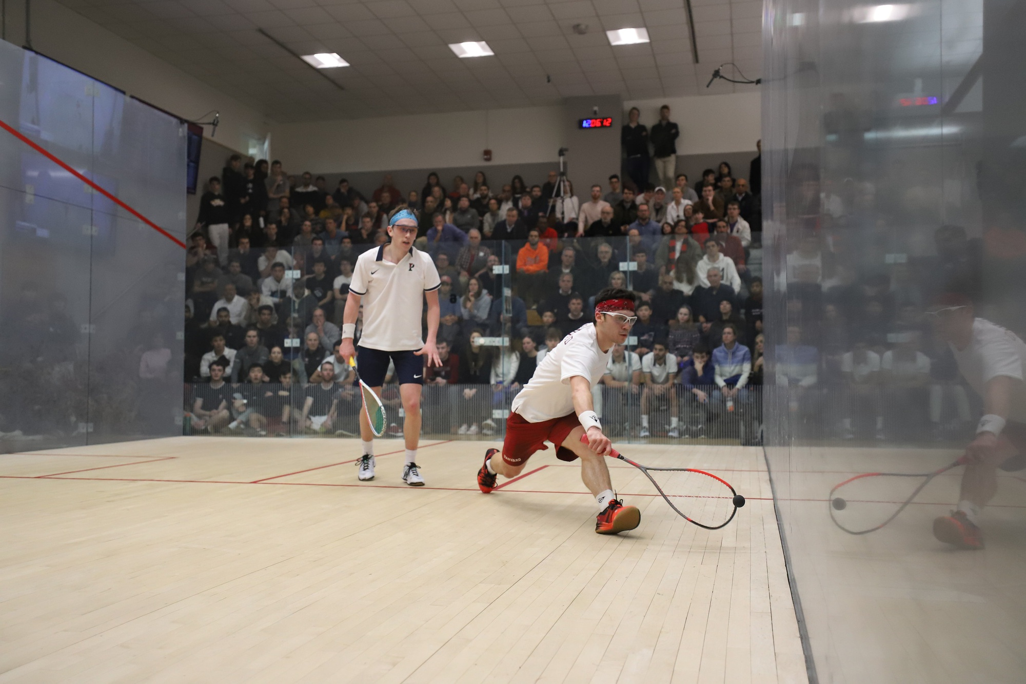 While currently over 3,000 miles away from Harvard, the French native is poised to bring his strong work ethic and talent back to campus. Pictured above, Crouin competes at last year's CSA National Championship, just days before the March 10, 2020, shutdown.