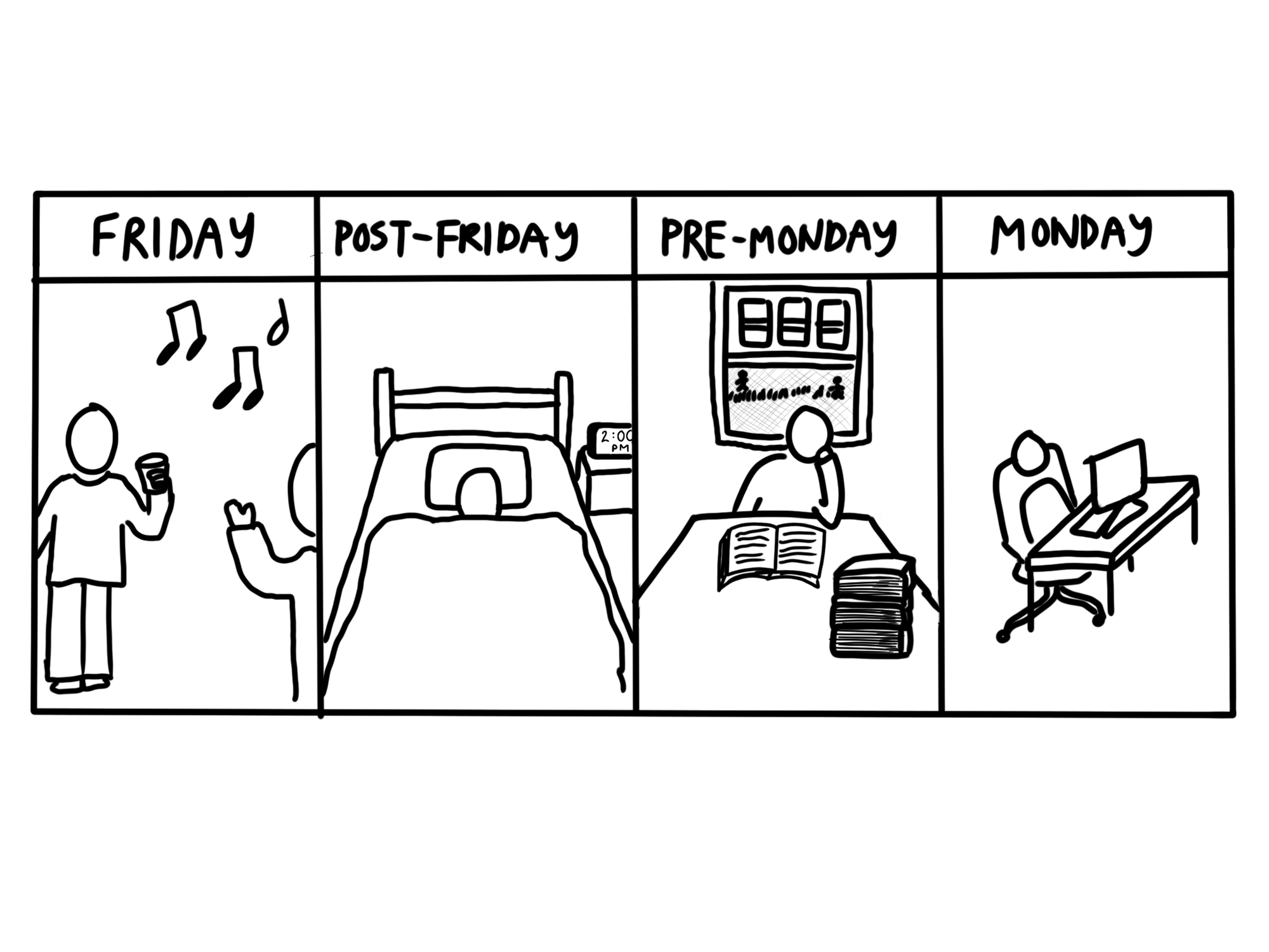 Working through the weekends