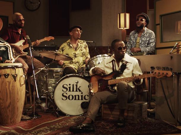 """Silk Sonic """"Leave the Door Open"""" Official Video"""