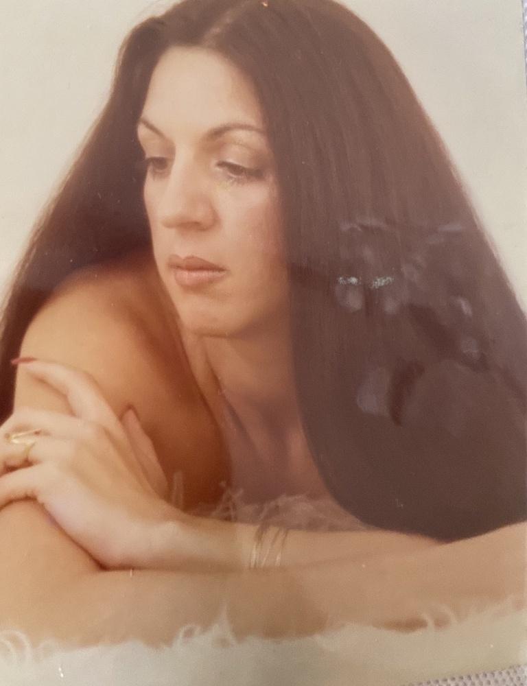 Nina's grandmother as a young woman.