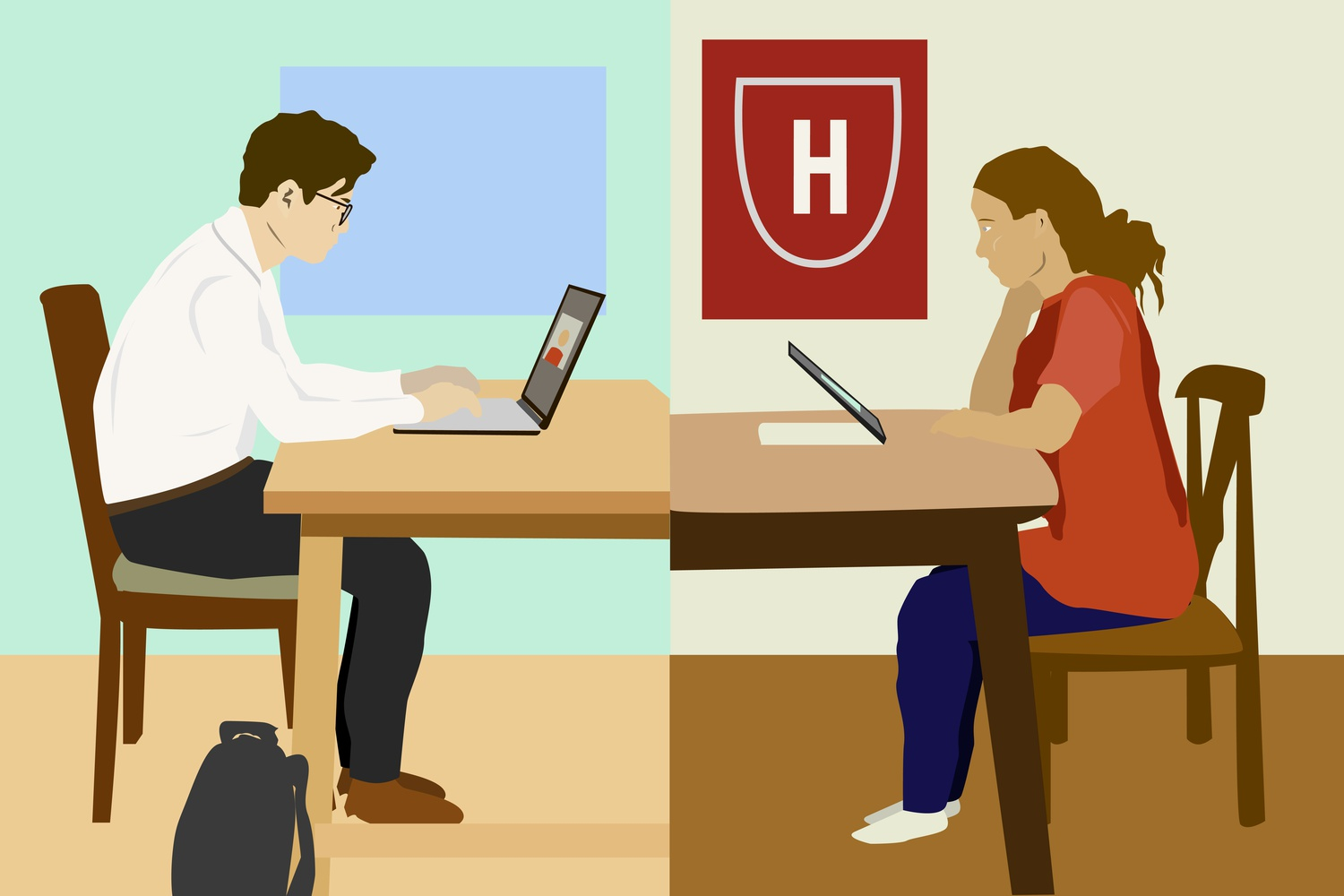 Harvard College alumni are conducting admissions interviews remotely during the coronavirus pandemic.
