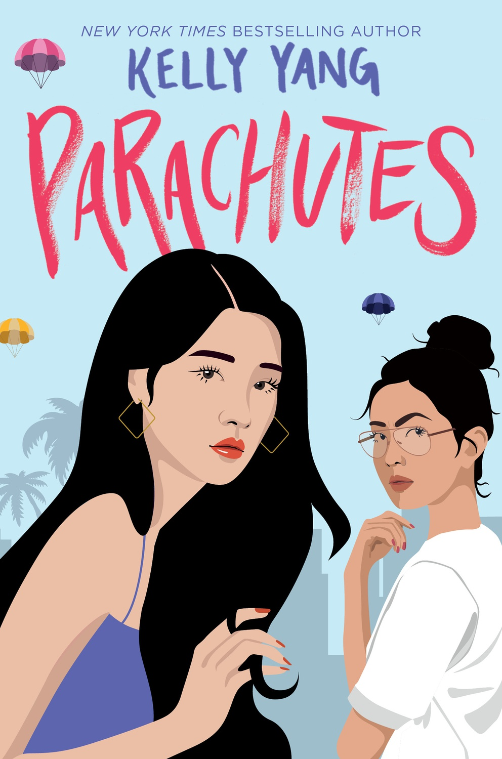 Parachutes is Kelly Yang's debut young adult novel exploring themes of immigration, wealth, friendship, and trauma.