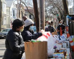 Cambridge Community Center Food Distribution