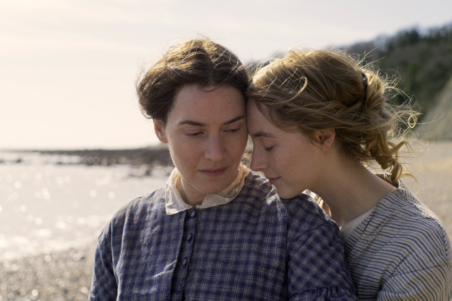 """Kate Winslet and Saoirse Ronan star in """"Ammonite."""""""